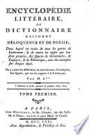 Encyclopédie littéraire