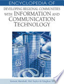 Encyclopedia Of Developing Regional Communities With Information And Communication Technology book