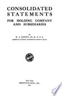 Consolidated Statements for Holding Company and Subsidiaries
