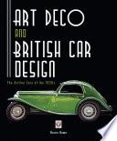 Art Deco And British Car Design