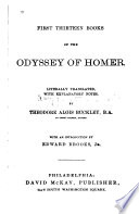 First Thirteen Books of the Odyssey of Homer
