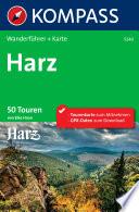 Kompass Wanderführer Harz