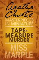 Tape Measure Murder  A Miss Marple Short Story
