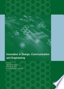 Innovation in Design  Communication and Engineering