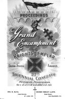 Proceedings of the Grand Encampment of Knights Templar of the United States of America