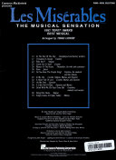 Les Miserables  Piano Vocal Selections