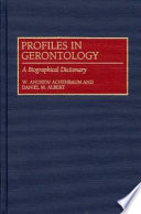Profiles in Gerontology