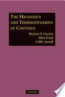 The Mechanics and Thermodynamics of Continua