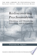 Rediscovering Psychoanalysis