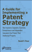 A Guide For Implementing A Patent Strategy