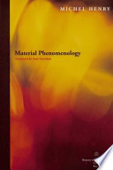 Material Phenomenology