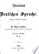 W  rterbuch der deutschen Sprache  abt  1  L R