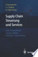 Supply Chain Steuerung und Services