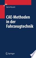 CAE-Methoden in der Fahrzeugtechnik