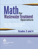 Math for Wastewater Treatment Operators Grades 3 and 4