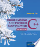 Programming and Problem Solving with C    Brief