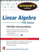 Schaum s Outline of Linear Algebra  5th Edition