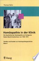 Homöopathie in der Klinik