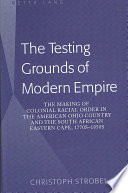 download ebook the testing grounds of modern empire pdf epub