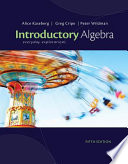 Introductory Algebra  Everyday Explorations