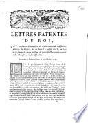Lettres patentes du Roi, qui confirment & autorisent les déliberations de l'assemblée générale du clergé, des 11 Juin & 2 Juillet 1765, au sujet de la somme de douze millions de livres de don gratuit ...
