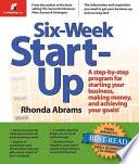 Six week Start up