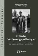 Kritische Verfassungspolitologie