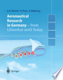 Aeronautical Research in Germany