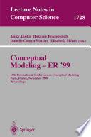 Conceptual Modeling ER 99