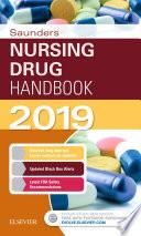 Saunders Nursing Drug Handbook 2019 E Book