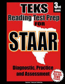 Teks 3rd Grade Reading Test Prep for Staar
