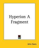 Hyperion a Fragment