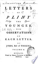 The letters of Pliny