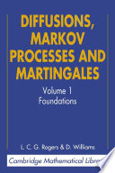 Diffusions Markov Processes And Martingales Volume 1 Foundations