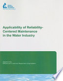 Applicability of Reliability Centered Maintenance in the Water Industry