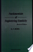 Fundamentals of Engineering Elasticity