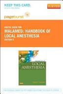 Handbook of Local Anesthesia Passcode