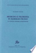 Medicina e filosofia in Marsilio Ficino