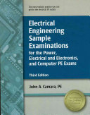 Electrical Engineering Sample Examinations for the Power  Electrical and Electronics  and Computer PE Exams