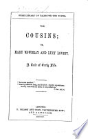 The Cousins  Or  Mary Mowbray and Lucy Lovett Book PDF