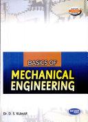 Basic Of Mechanical Engineering  Mdu