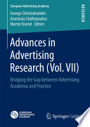 Advances in Advertising Research  Vol  VII