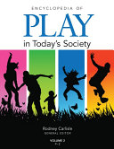 download ebook encyclopedia of play in today\'s society pdf epub