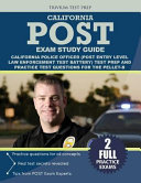 California Police Officer Exam Study Guide