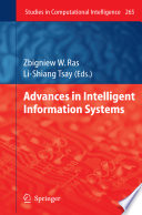 Advances In Intelligent Information Systems : generation of information systems (is) developed...