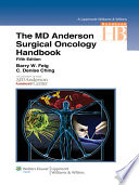 The M D  Anderson Surgical Oncology Handbook