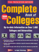 The Complete Book of Colleges  1999 Edition