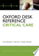 Oxford Desk Reference Critical Care