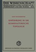 Einführung in die kombinatorische Topologie