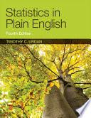 Statistics in Plain English  Fourth Edition